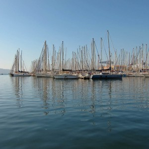 The Med cruise 2010 - Toulon, yacht harbour