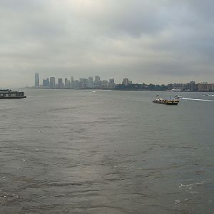 Looking south down the Hudson River