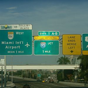 Leaving the Port of Miami