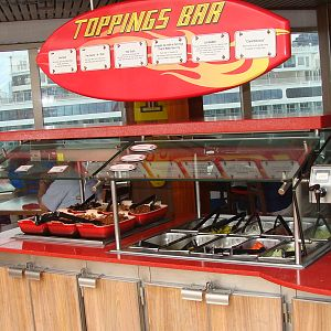 Guy's Topping Bar