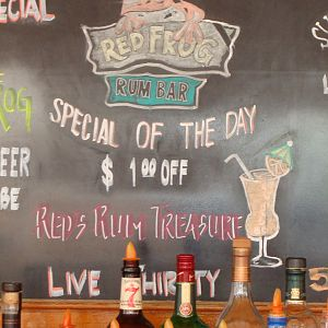 Red Frog Rum Bar Specials