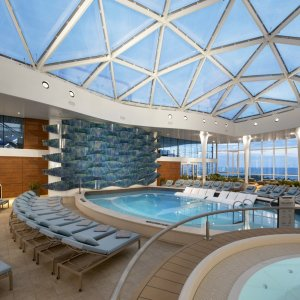 The Solarium aboard Celebrity Edge