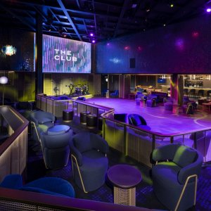 The Club aboard Celebrity Edge