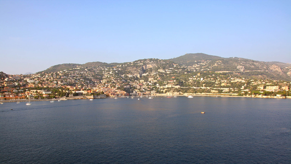 The Med cruise 2010 - Villefranche and the surroundings